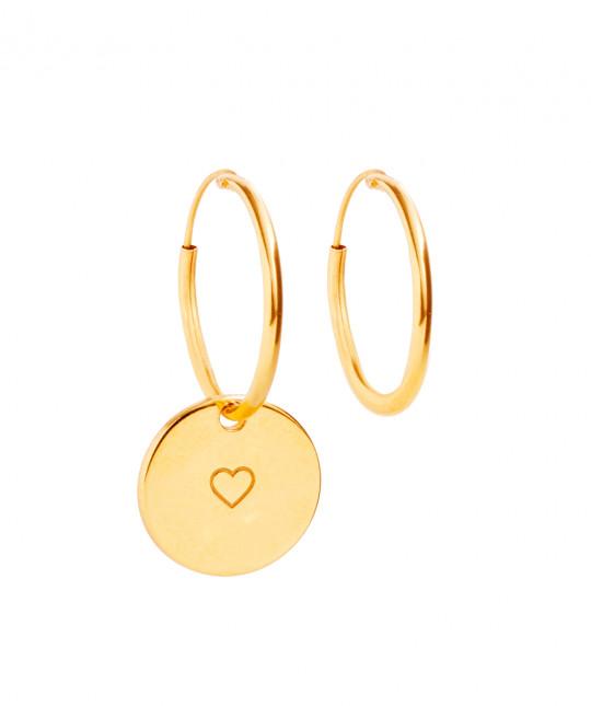 Gold Medal Earrings