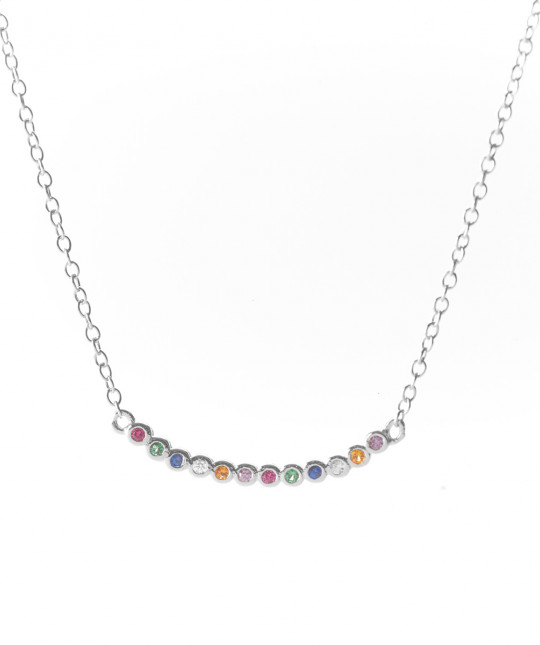 Silver Auriga Necklace