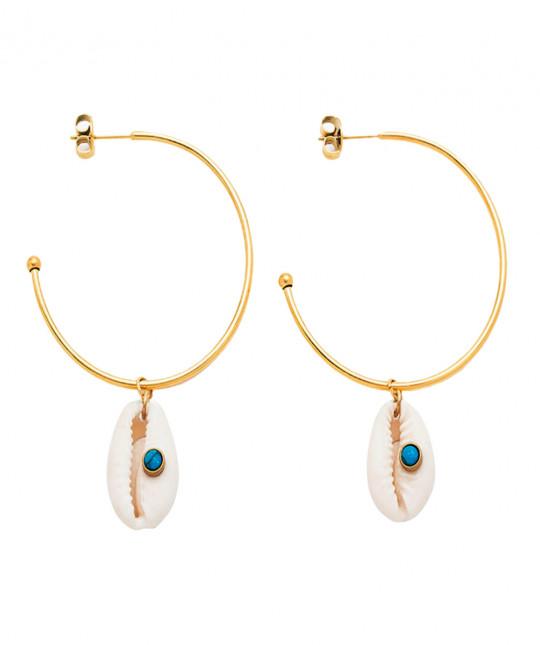 Shell Ring Earrings