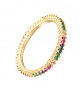 Colored Zirconia Ring