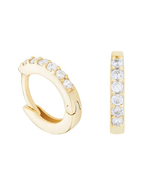 Ambra Gold Earrings