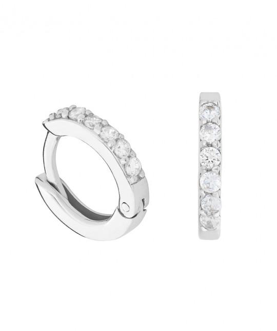 Ambra Silver Earrings